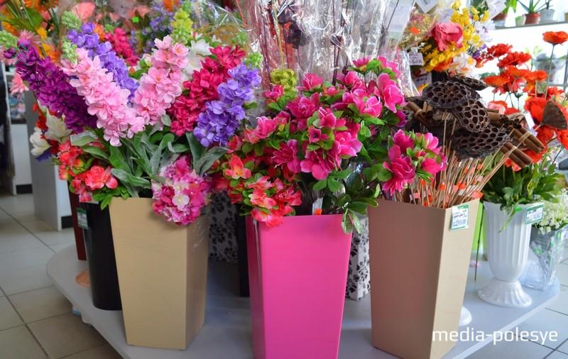 Магазин цветов своими руками