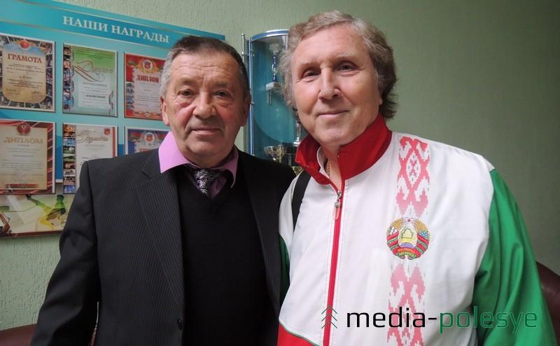 Владислав Гезенко и Евгений Русаков из Пинска