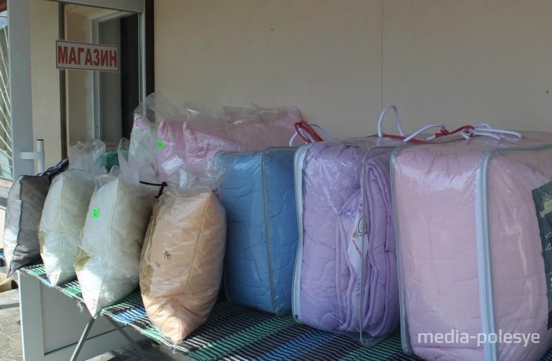 Немалый выбор постельного белья и детских игрушек предлагают в Удрицке