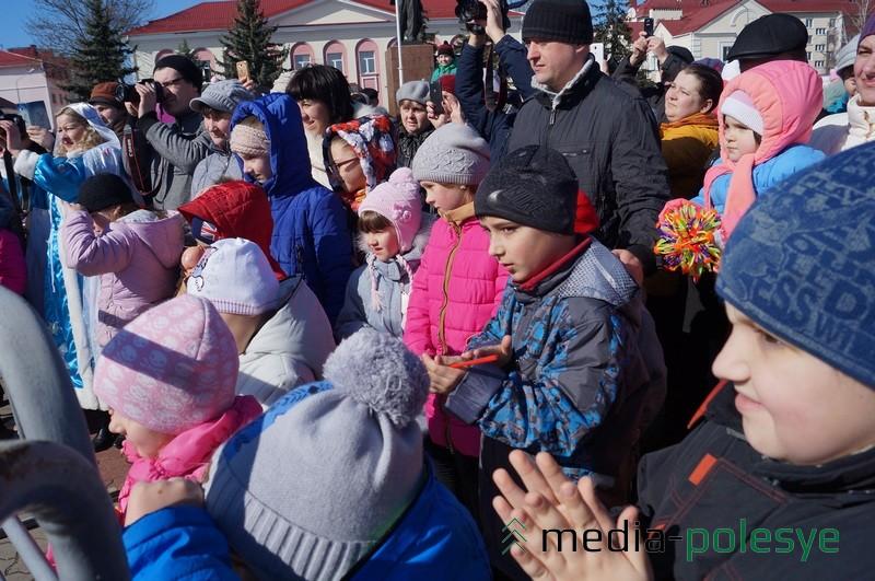 Лунинчане с нетерпением ждали кульминации праздника