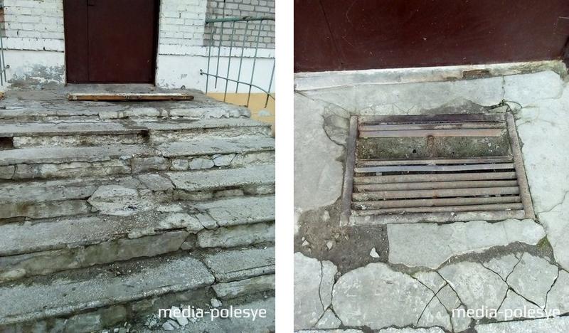 Так выглядит вход в подъезд дома №118 по улице Брестской. Решётка, которую просили отремонтировать жильцы