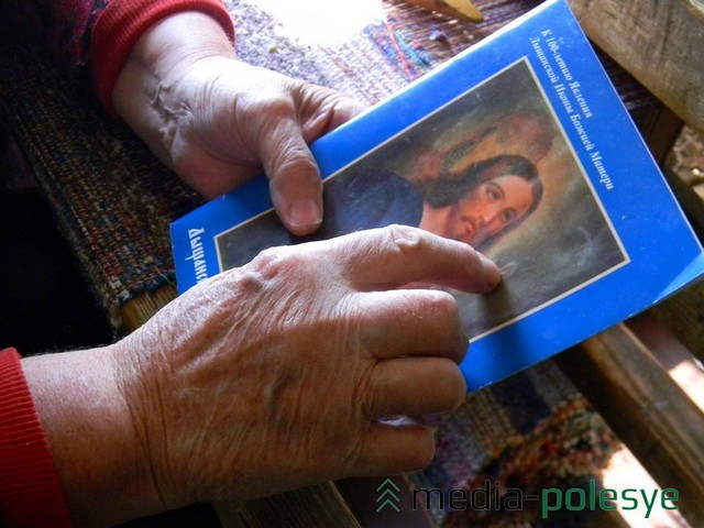 Мария Миновна очень набожна, рассказывает о чудотворной лышчанской иконе, на которой проявился Лик Божьей матери