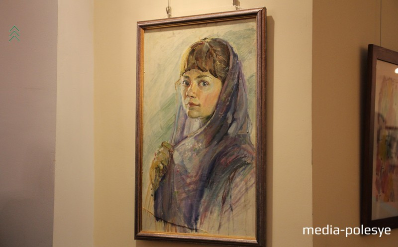 Портрет работы Марины Бакуриной