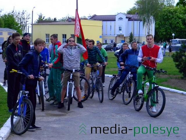 Студенты – участники церемонии