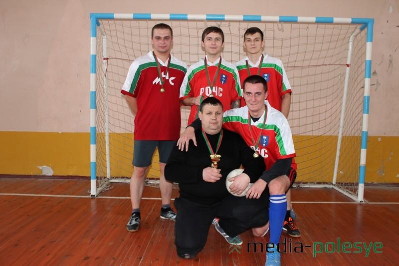 Бронзовый призер команда РОЧС