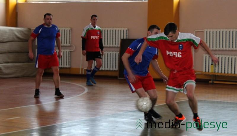 Во время игры между командами ОВДТ и РОЧС