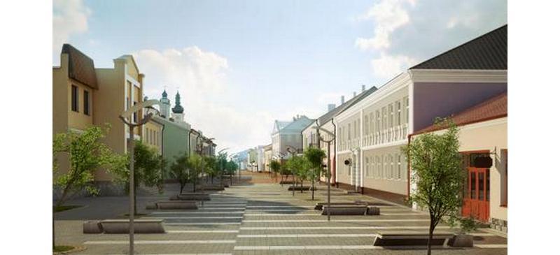 Такой видят третий реконструируемый участок улицы Ленина проектировщики. Фото мастерской «Студио А3»