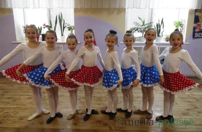 Танцоры подготовительной группы