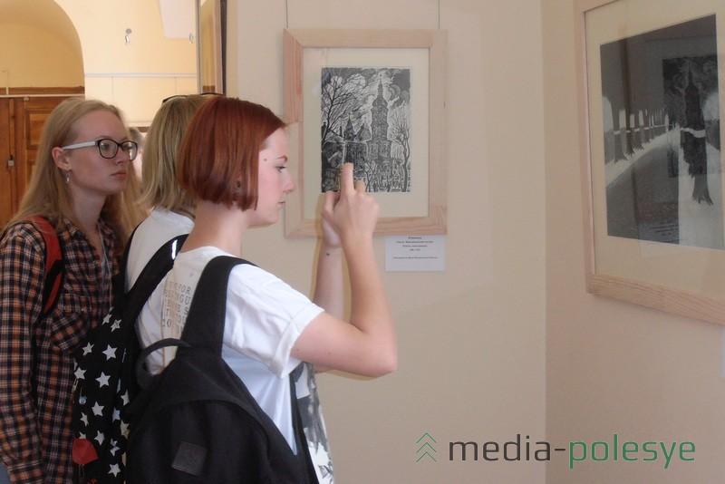 Учащиеся художественной школы