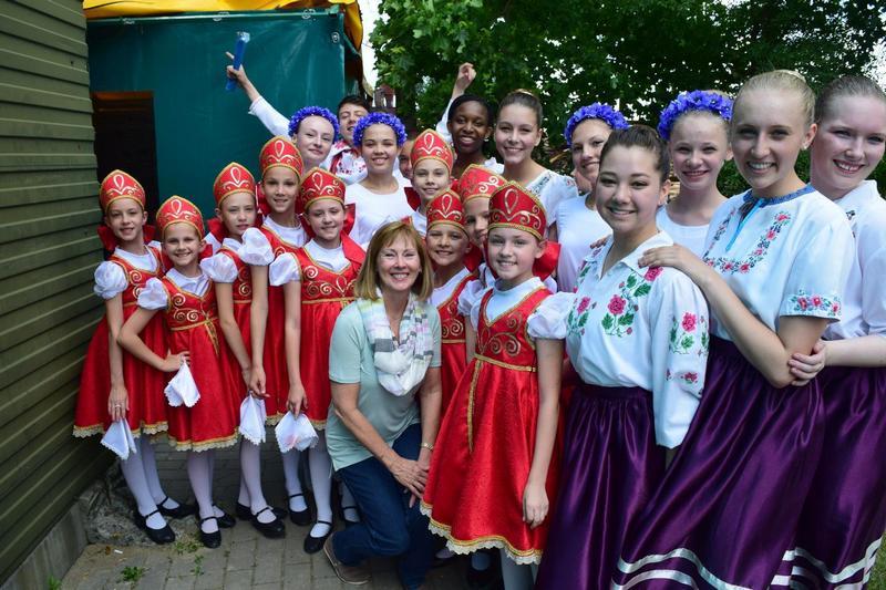 Американские танцоры и участники студии танца «Be FLEX»