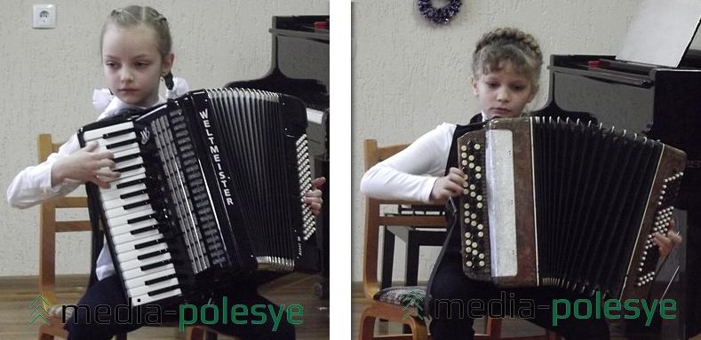 Владислава Ребковец и Ангелина Помозова
