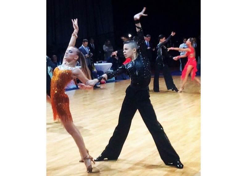 «Марафон» из пяти танцев Вероника Лепко и Святослав Чижик исполнили блестяще