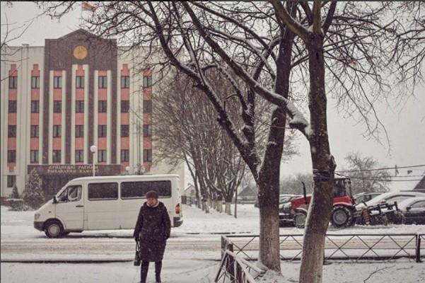 #piople #wumen #belarus #tree #topphotos #wintertime #snowboard #mediapolesye