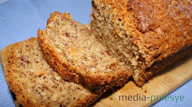 Структура пирога приятна на вид и на вкус