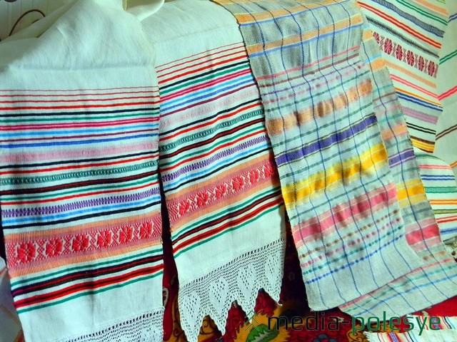 Полотенца вытканные Марией Коростылёвой