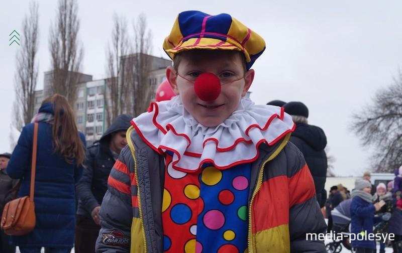 Клоуны тоже бывают детьми