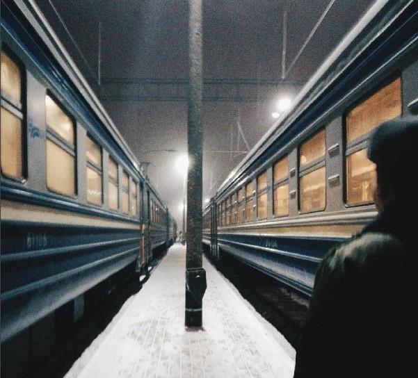 #railway #roud #winter #travelling #vacation #belarus #дорога #железнаядорога #беларусь #путь #цитата #философия