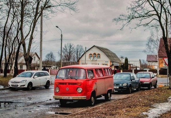 #беларусь #жывебеларусь #belarus #białoruś #volkswagen #retro #winter