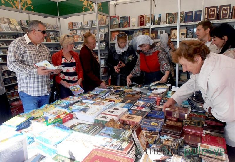 Посетители интересовались православной литературой