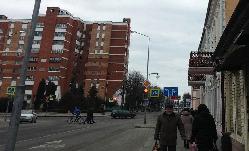 Вид на улицу Брестскую