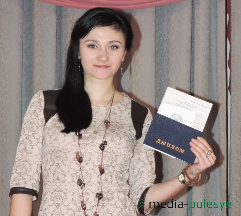 Диплом с отличием получила Мария Орехва