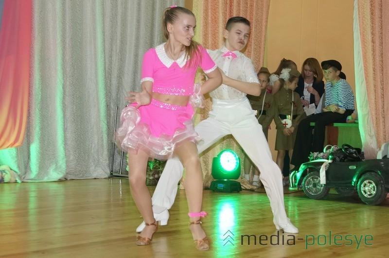 Чемпионы Беларуси – Вероника Лепко и Святослав Чижик