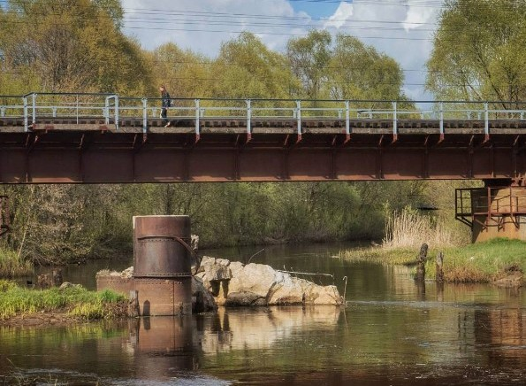 #mediapolesye #медиаполесье #беларусь #belarus #палессе #мост #bridge #river #nature #прыродабеларусі
