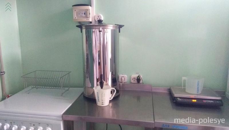 Молочная кухня в Пинском специализированном доме ребёнка