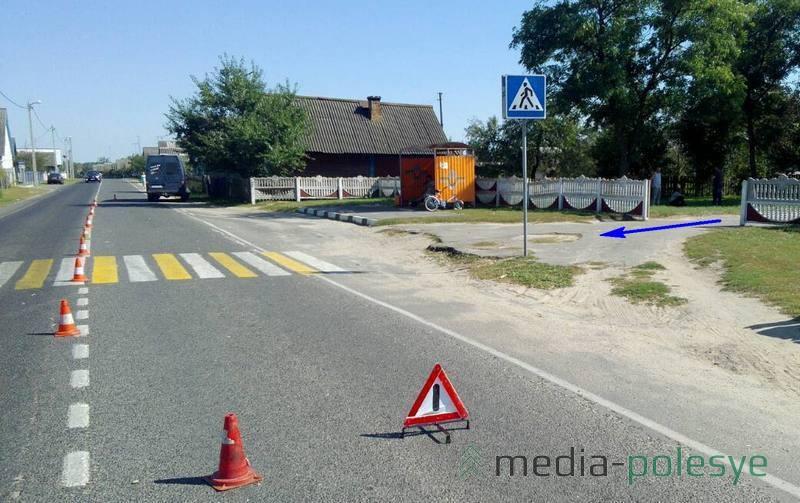 Место происшествия. Велосипедист выехал справа