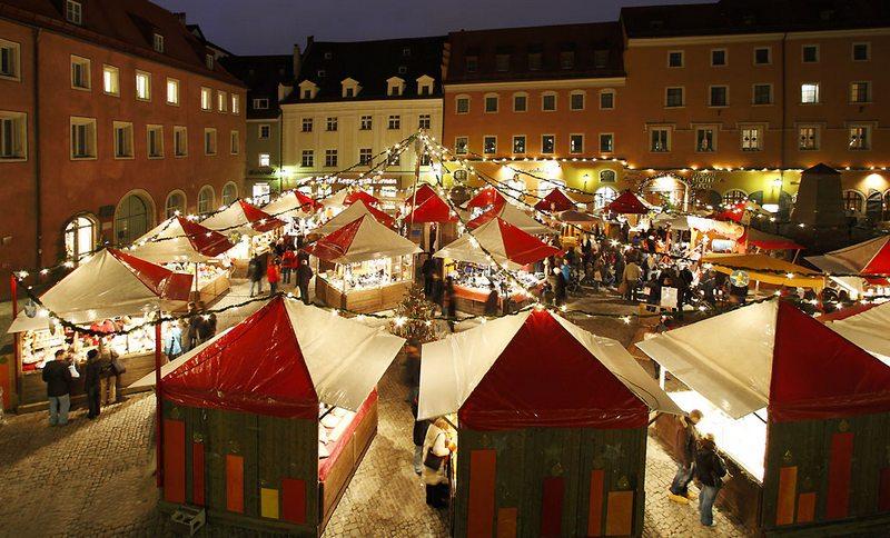 Регенсбургская ярмарка, фото с bavaria-tourism.ru