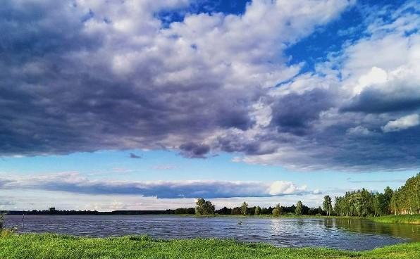 #природа #небо #лето #медиаполесье