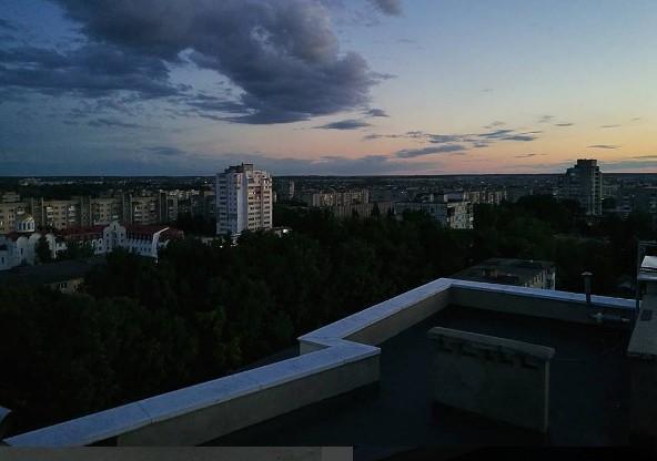 #город #крыша #вечер #небо #медиаполесье #city #citylife #roof