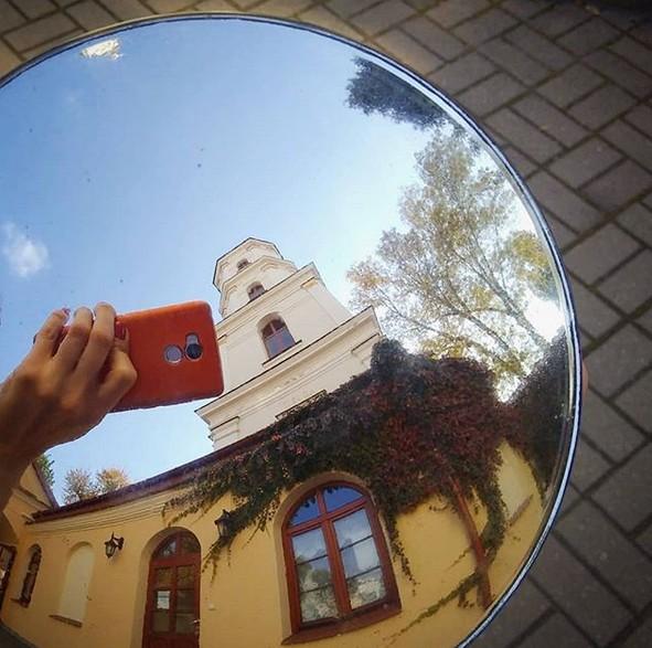 #pinsk #mirror #towmirrors #Belarus #architecture #пинск