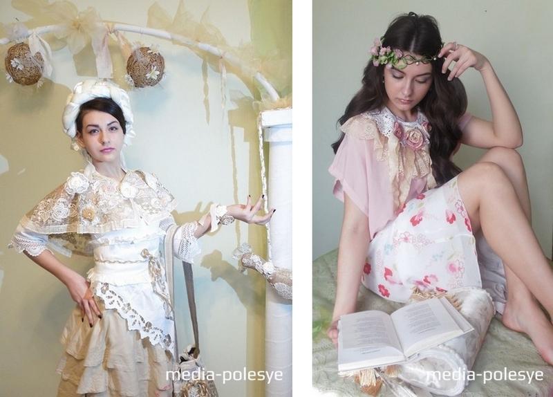 Ёё  загадочная внешность вдохновляла на различные образы в театре моды «Дива», где  Анжелика занималась в качестве модели три года