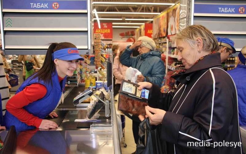 Приветливый персонал помогает «Санте» привлекать покупателей