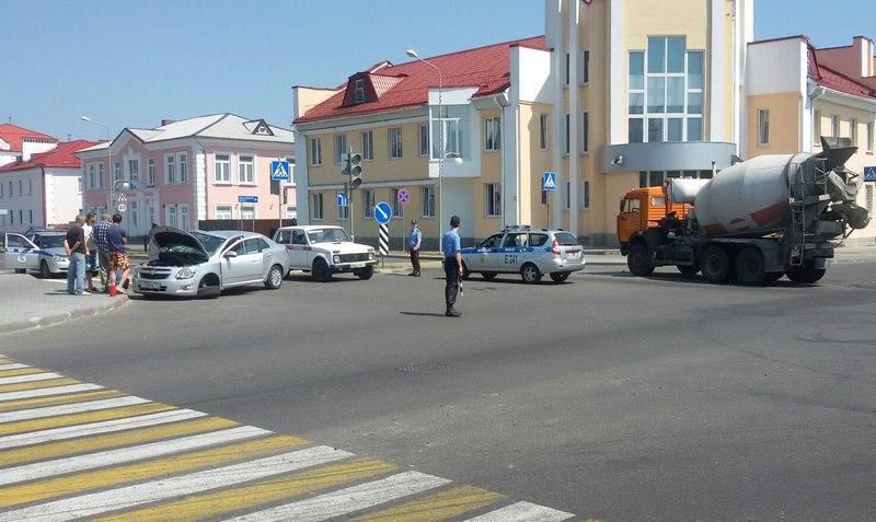 ДТП на перекрёстке Белова - Горького
