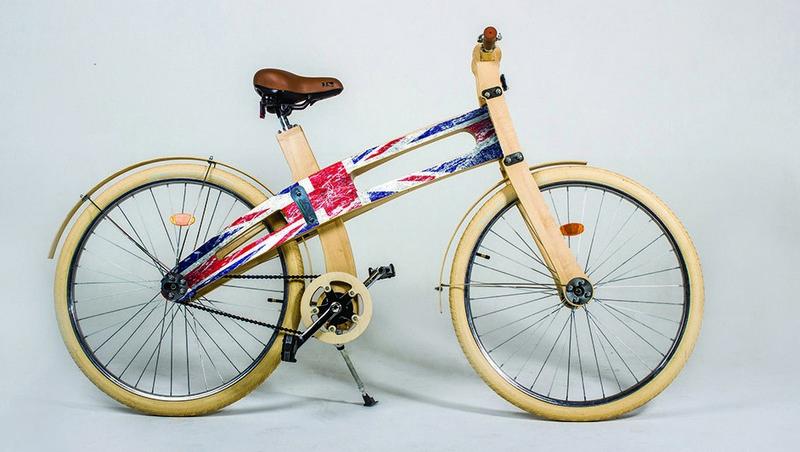 «Деревянный» велосипед от фирмы Belwooddors (фото с сайта компании)