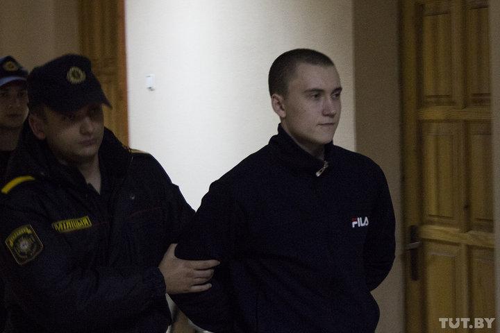 Обвиняемый Андрей Борзенко