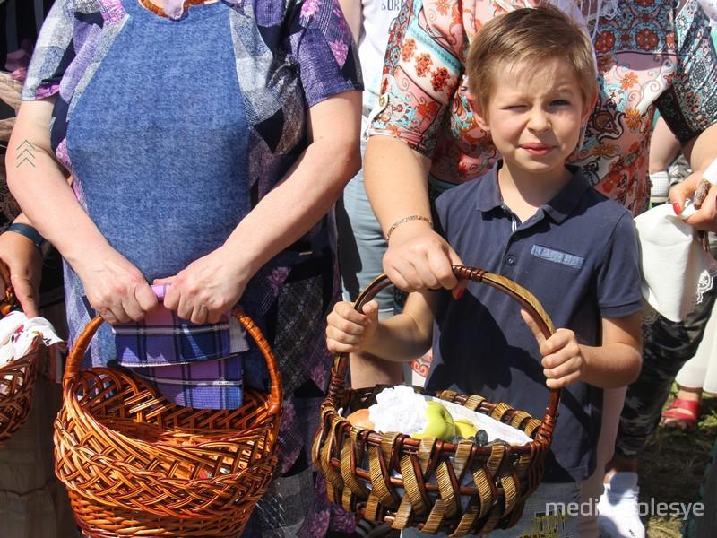 Яблочный спас в Пинске