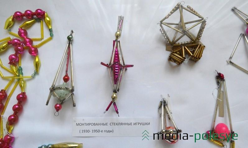 Эти игрушки собирались вручную из стеклянных трубочек и бисера