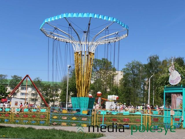 В городском парке есть раритетные карусели из 70-х годов прошлого века