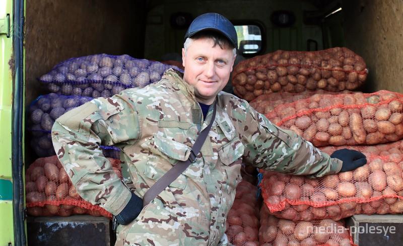 Валерий Шпакевич и его урожай
