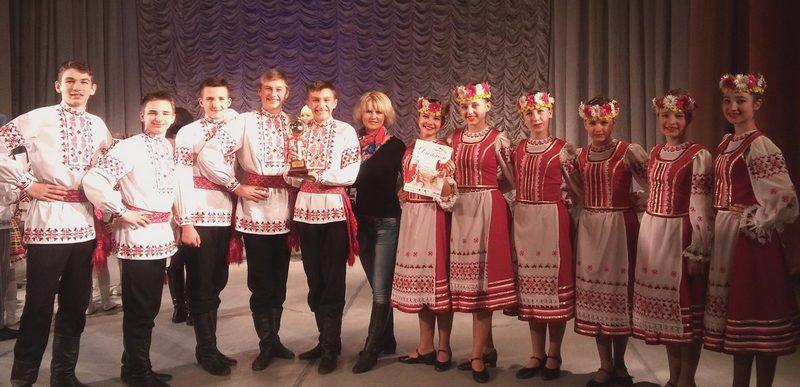 Диплом первой степени в номинации «Вясковая полька» образцовый ансамбль танца «Карагод» получил на международном турнире в Минске в 2015 году