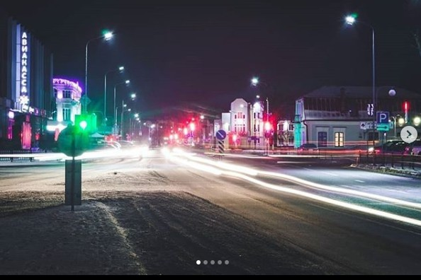 #belarus #pinsk #city #cityatnight #nightcity #cityoflights