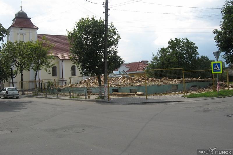 Строение снесли, на его месте будет сквер
