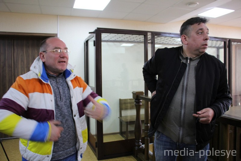 Кабанов и Петрухин после оглашения решения суда