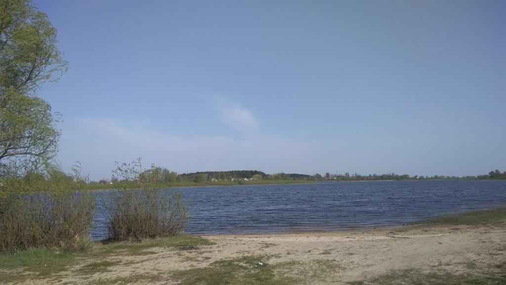 Берег городищенского озера. Фото с сайта организации «С добротой по миру»