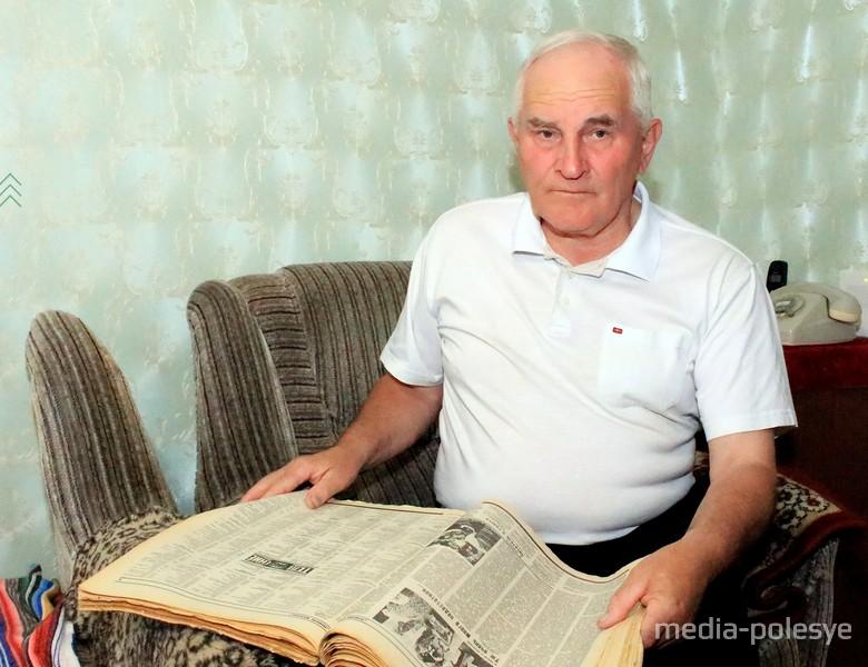 "Фёдор Сытин, бывший редактор газеты ""Пінскі веснік»"