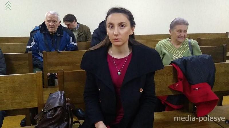 Татьяна Кебикова в зале суда