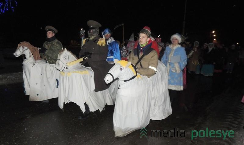 Конік і коннік – абавязковы персанаж у групе шчадруючых